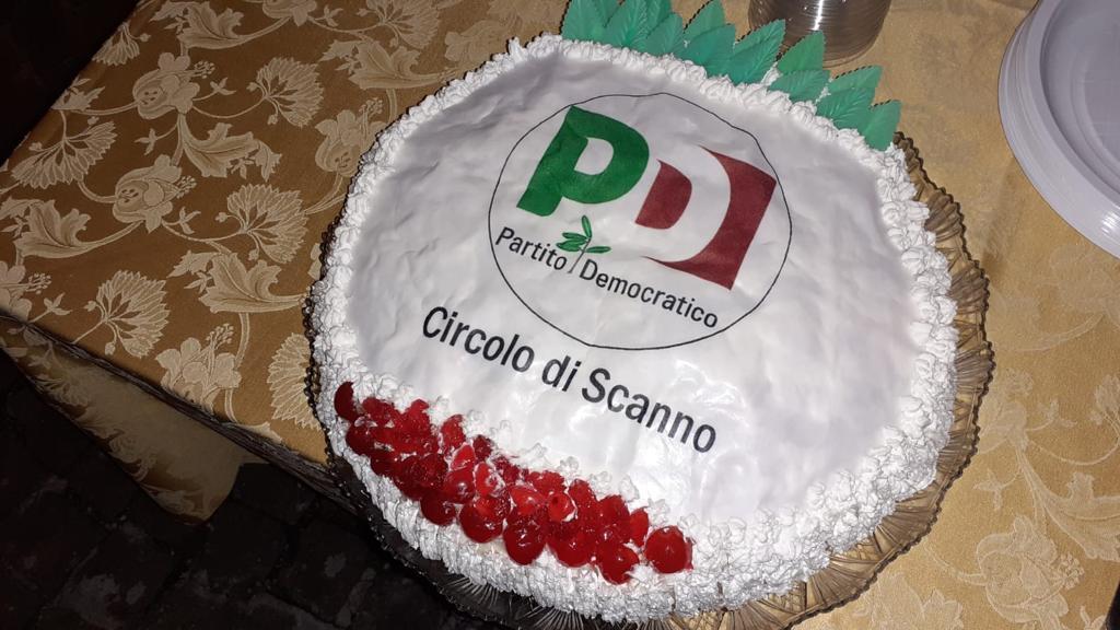 Inaugurazione sede PD del Circolo di Scanno con il Segretario Regionale Michele Fina, il Segretario Provinciale Francesco Piacente e il Coordinamento PD Scanno Cesidio Giansante