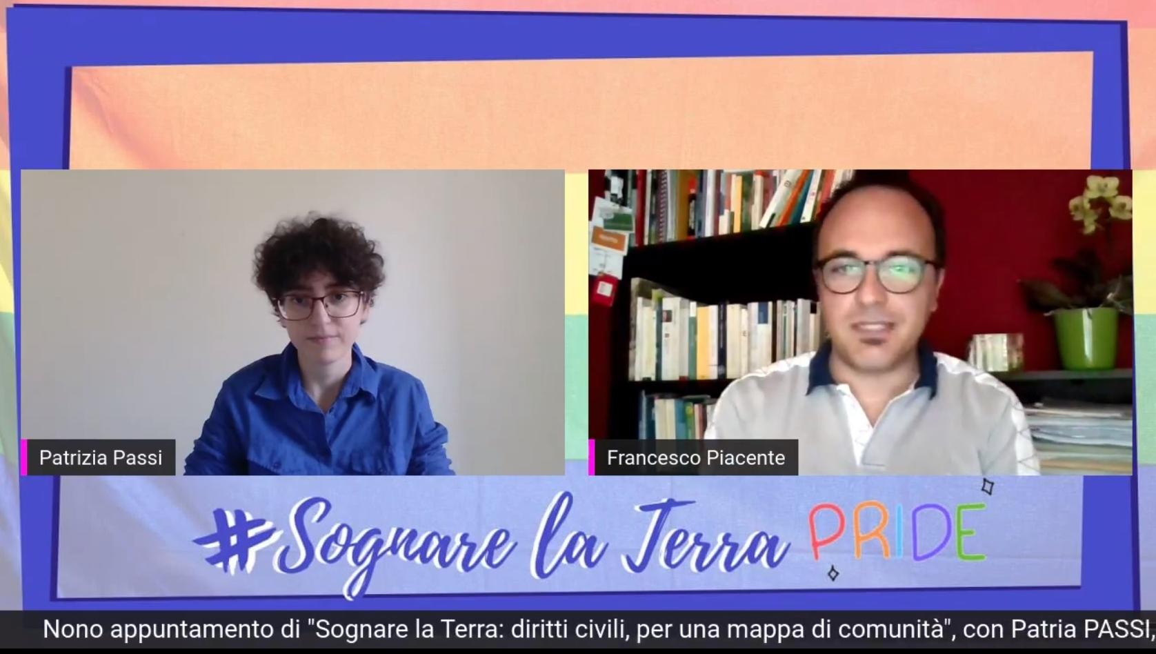Diritti civili, amore e felicità: con Sognare la Terra Francesco Piacente (Pd) omaggia il primo pride in Abruzzo